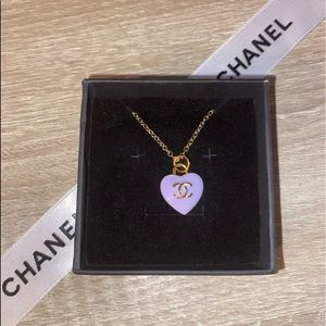 ✨💜✨Authentic CHANEL 💜 Zipper-Pull✨💜✨Necklace✨